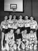 Sports Club Riga, Swedish basket champions 1958
