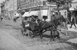 Horse cab in Tallinn, 1930`s